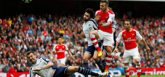 Arsenal vs West Bromwich Albion, Putus Tren Negatif